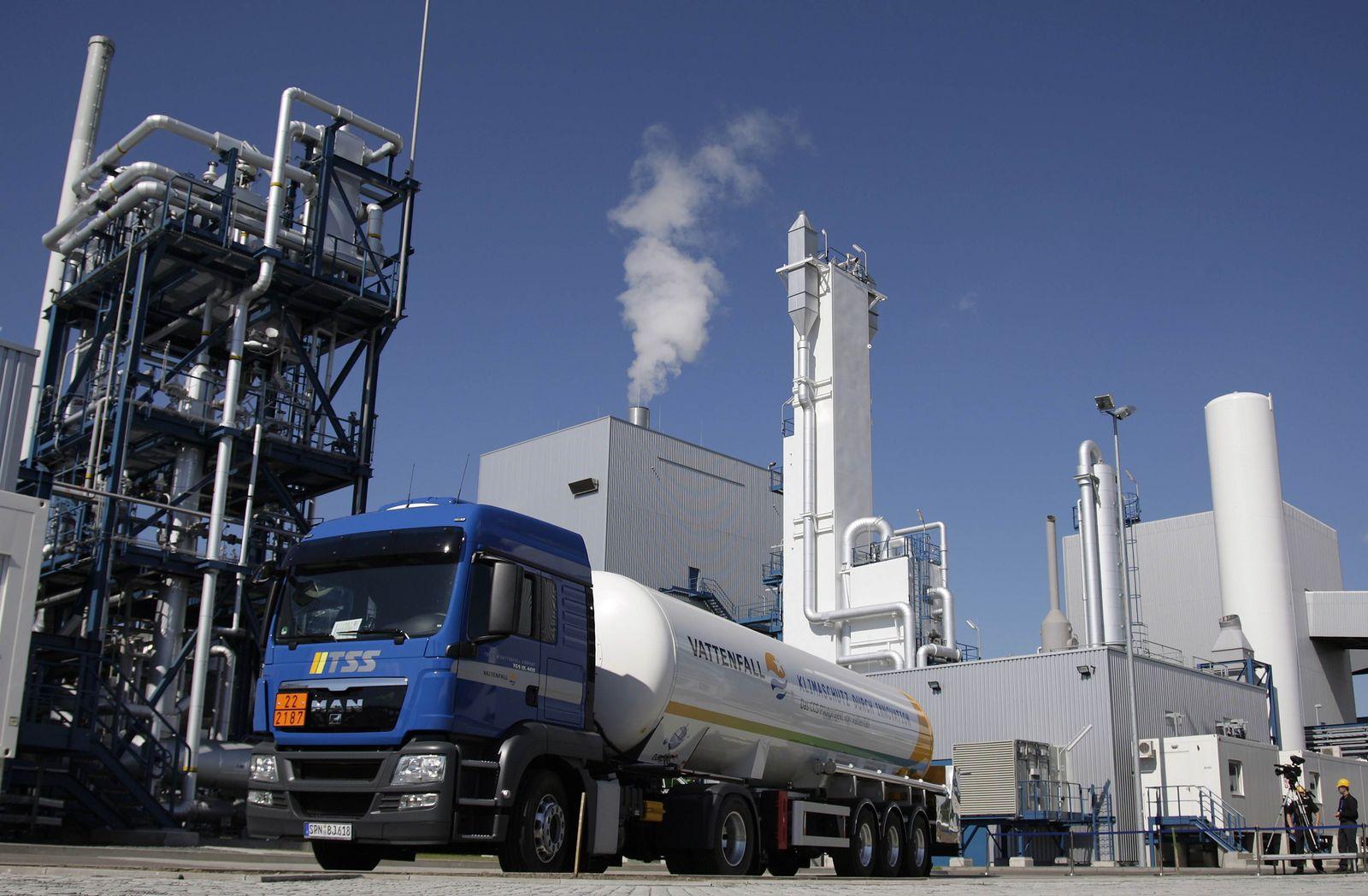 CCS/Vattenfall/Schwarze Pumpe