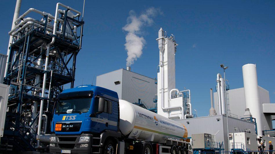 CCS-Testanlage Schwarze Pumpe: Vattenfall will in Brandeburg die CO2-Entsorgung proben