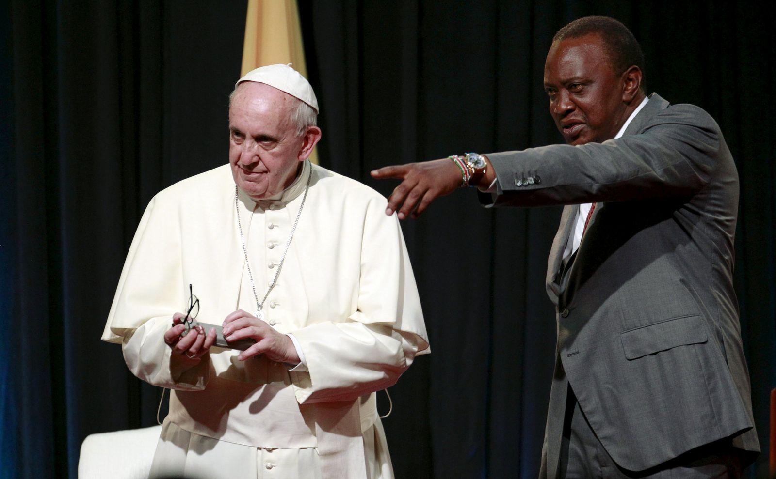 Papst Franziskus Afrika