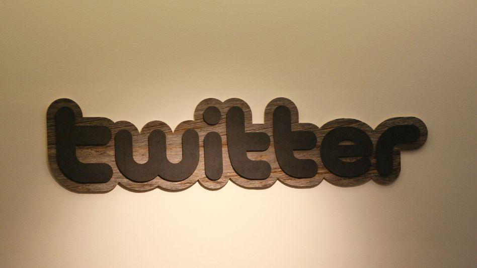 Twitter-Logo in der Zentrale in San Francisco: Betriebssystem für das Echtzeit-Web