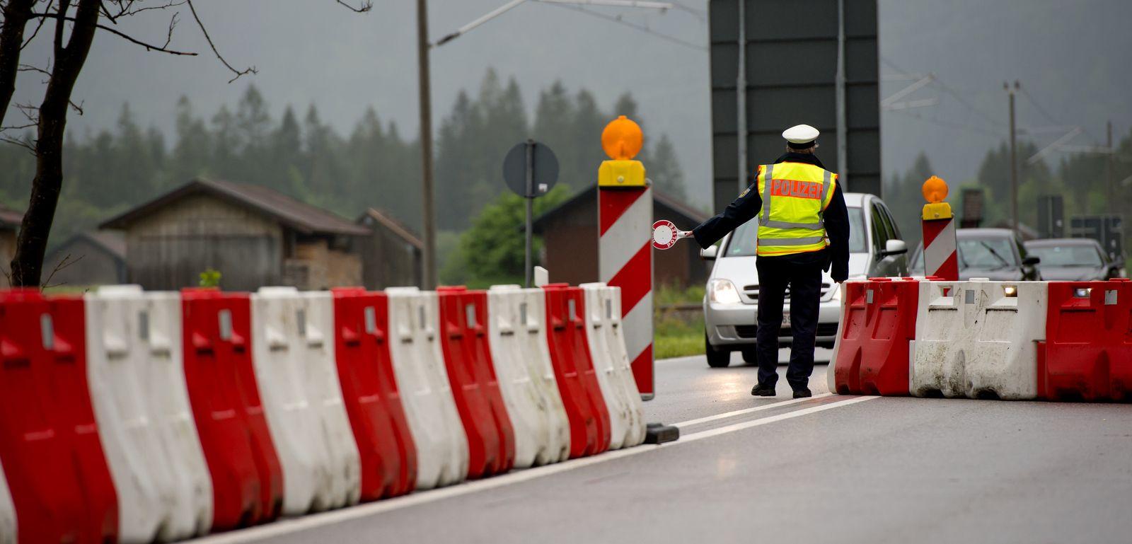 Grenzkontrolle Deutschland / Österreich