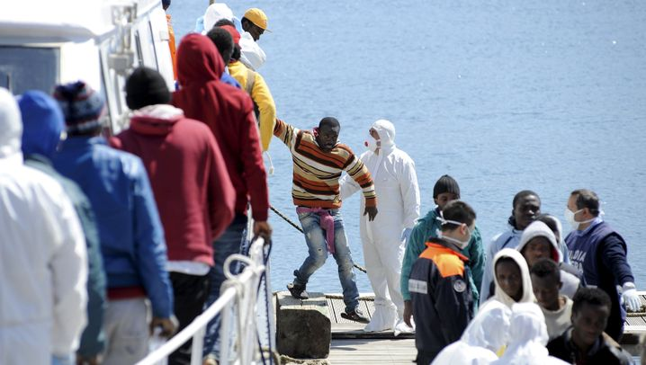 Flüchtlinge: Gestrandet in Italien