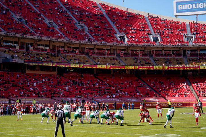 Stadion in Kansas City: NFL-Spiele finden ohne oder mit deutlich weniger Zuschauern statt