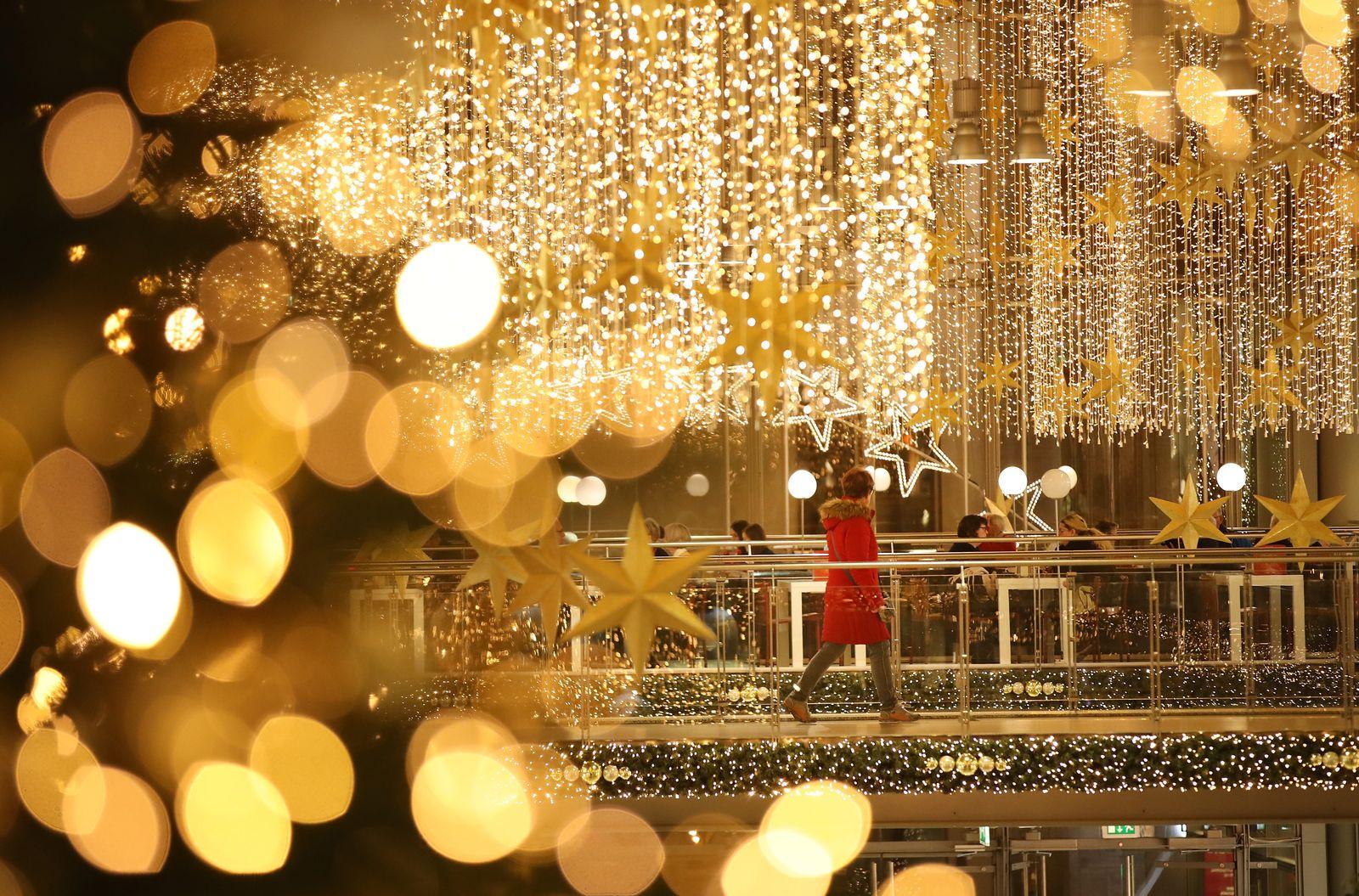 Weihnachts-Gadgets/ einkaufmall berlin weihnachtseinkäufe