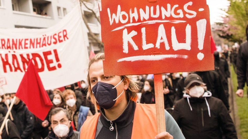 Demonstranten in Berlin (Archivbild)