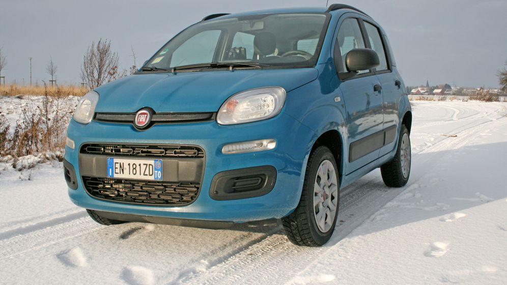 Autogramm Fiat Panda Natural Power: Volltanken für zwölf Euro