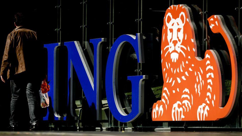 Logo der ING Bank