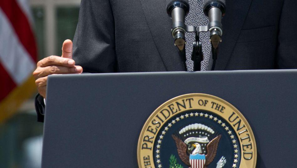Barack Obama am Montag: Vorschlag der Republikaner stößt auf wenig Gegenliebe