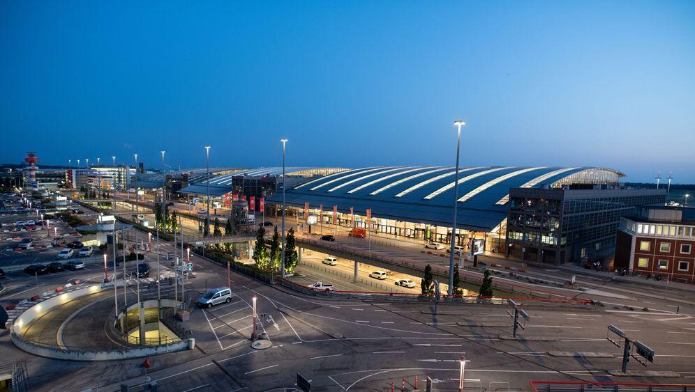 Hamburger Flughafen: Ein Tag Stillstand