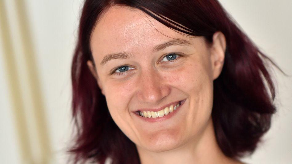 Ist dann demnächst mal für ein Jahr weg: Physikerin Christiane Heinicke