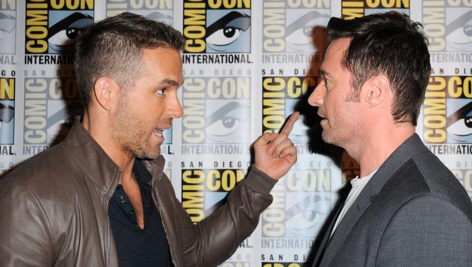 Ryan Reynolds und Hugh Jackman: Innige Freundschaft inklusive Onlinefehde (Archivbild)