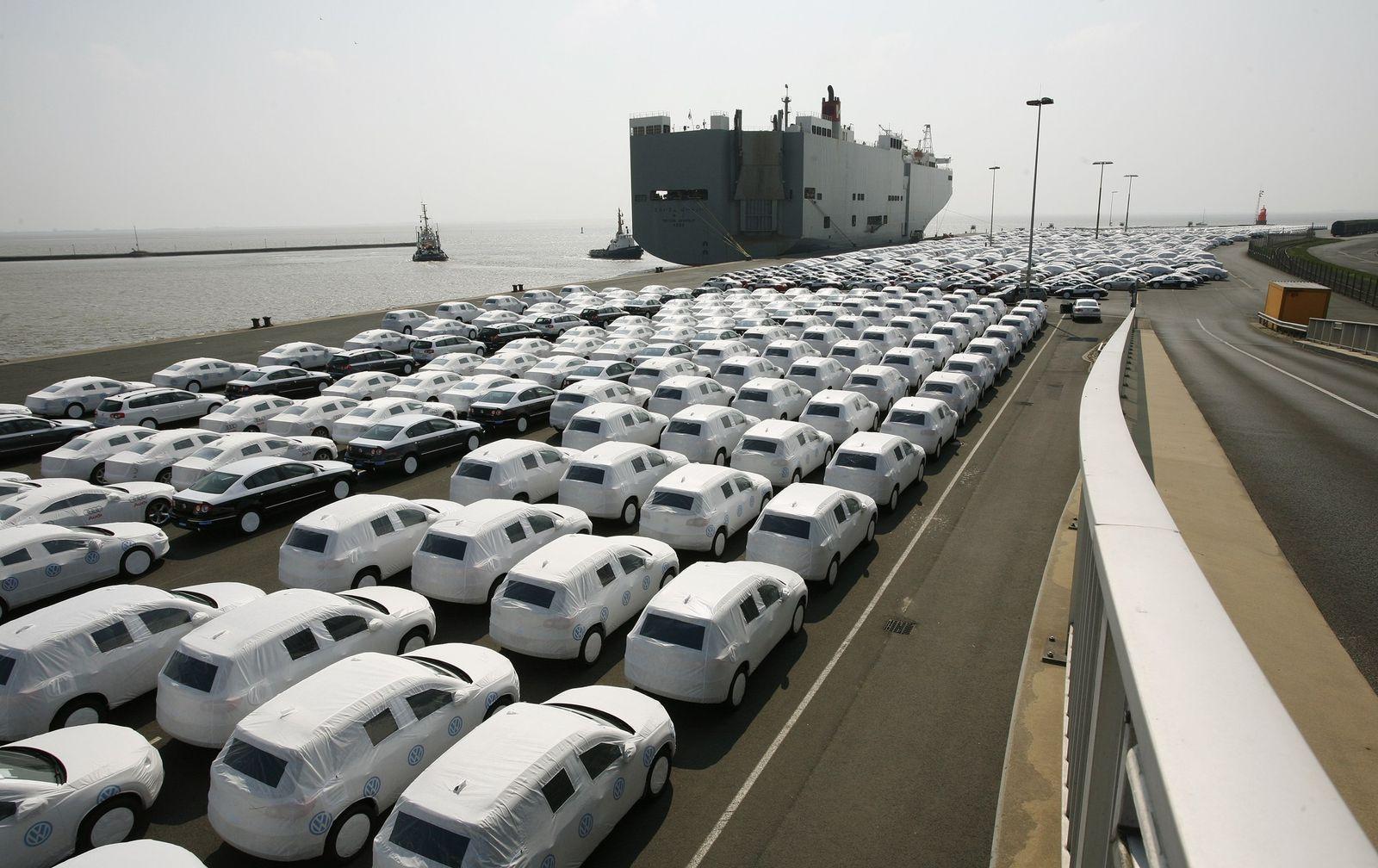 Wirtschaft / Export / Konjunktur / Autos