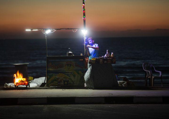Die Stromversorgung im Gazastreifen ist katastrophal