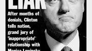 Als Clinton das Impeachment traf