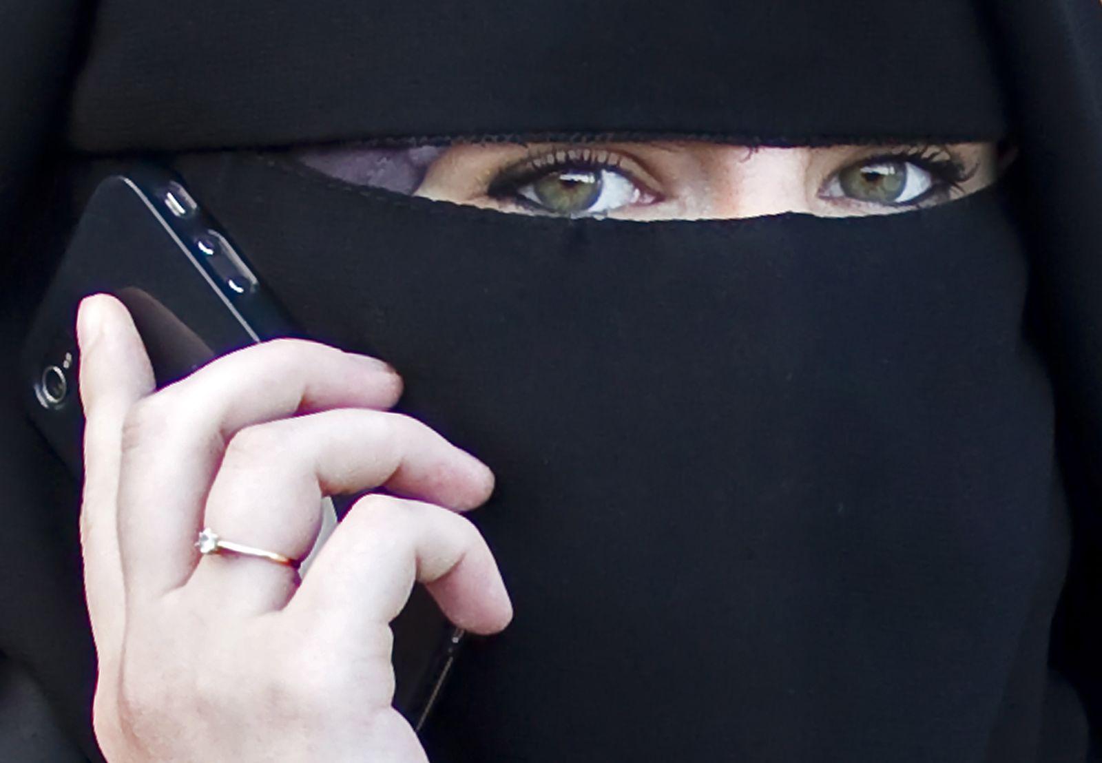 Burka/ Frankreich