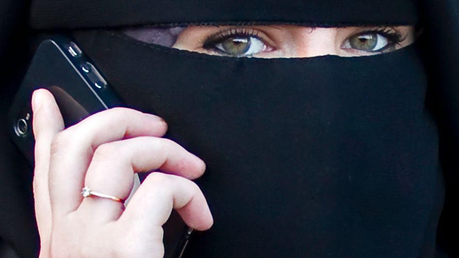 Die Gesichtsverschleierung ist in Frankreich seit 2011 gesetzlich verboten