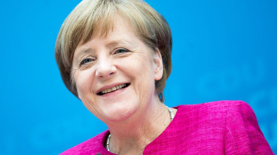 CDU-Chefin und Kanzlerin Angela Merkel