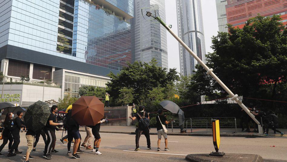 Proteste in Hongkong: Wiederholt sich Tiananmen?