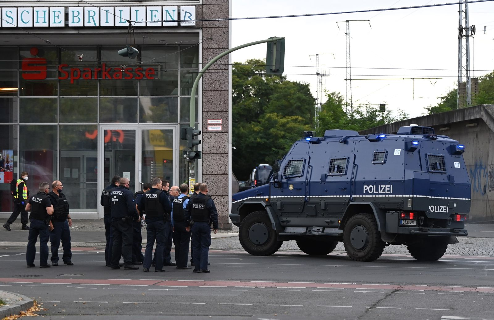 Polizeieinsatz in Köpenick