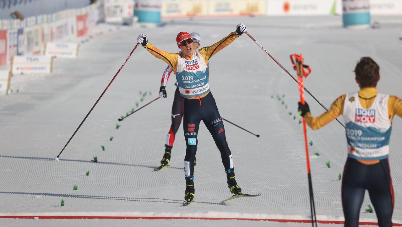 DSV-Kombinierern gelingt WM-Aufholjagd: »Bronze fühlt sich heute an wie eine Goldmedaille« - DER SPIEGEL