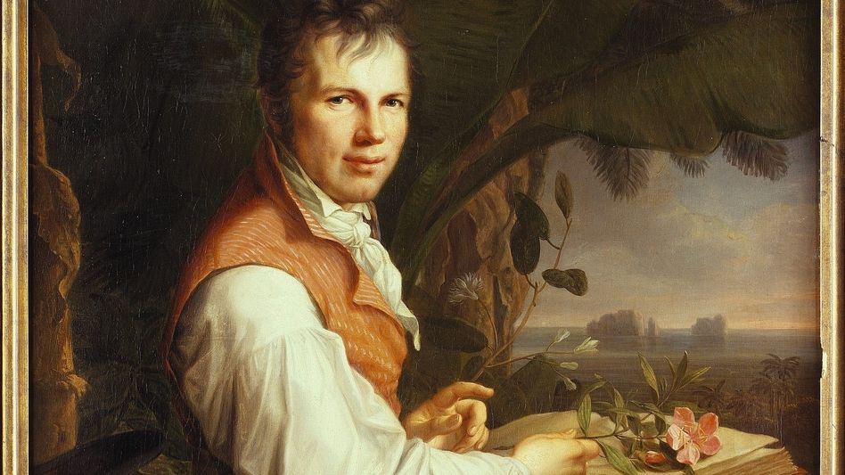 Humboldt-Bildnis von Friedrich Georg Weitsch, 1806: Leben als Selbstexperiment, Stromstöße inklusive