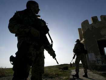 Bundeswehrsoldaten beim Einsatz in Kunduz