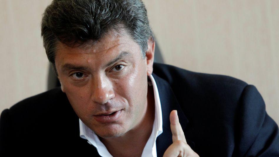 """Oppositionspolitiker Boris Nemzow: """"Ein paar auf die Fresse"""""""