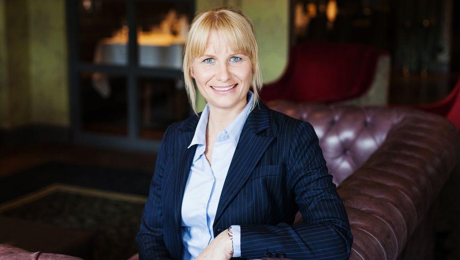 Aspria-Chefin Geraldine Seibel-Lübbke