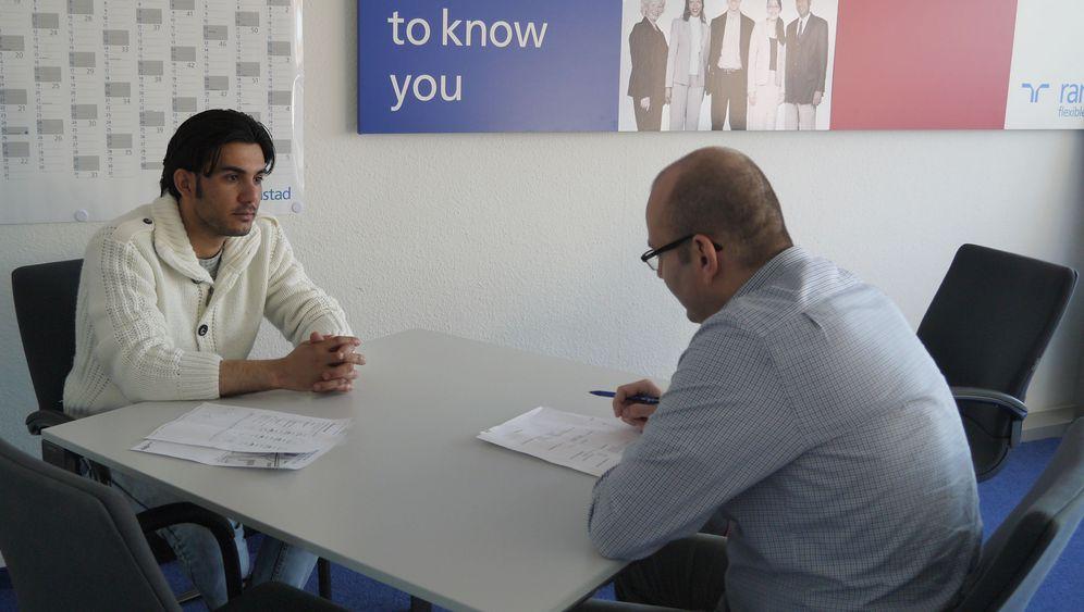 Flüchtlingsheim am Grenzweg: Murad sucht einen Job