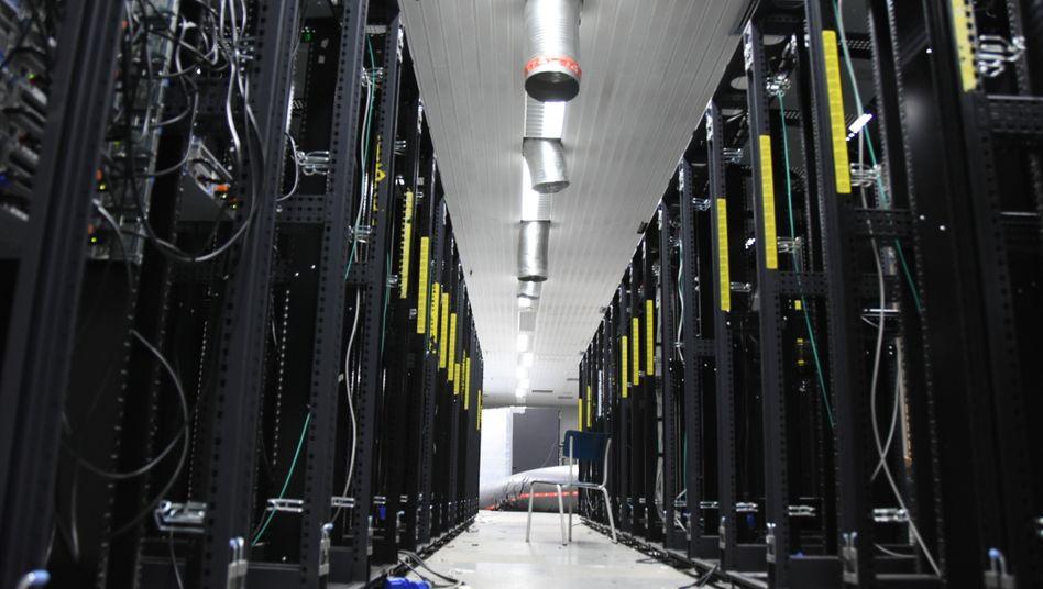 Server-Raum im Cyberbunker in Traben-Trarbach
