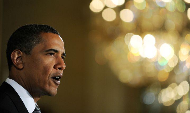 Obama bei der Vorstellung des White Papers: Wege und Umwege