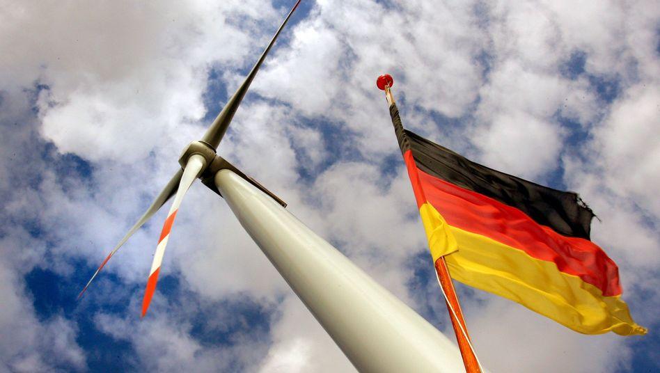 Offshore-Windkraftanlage vor Rostock: Deutsche Führungsrolle bei grünen Technologien