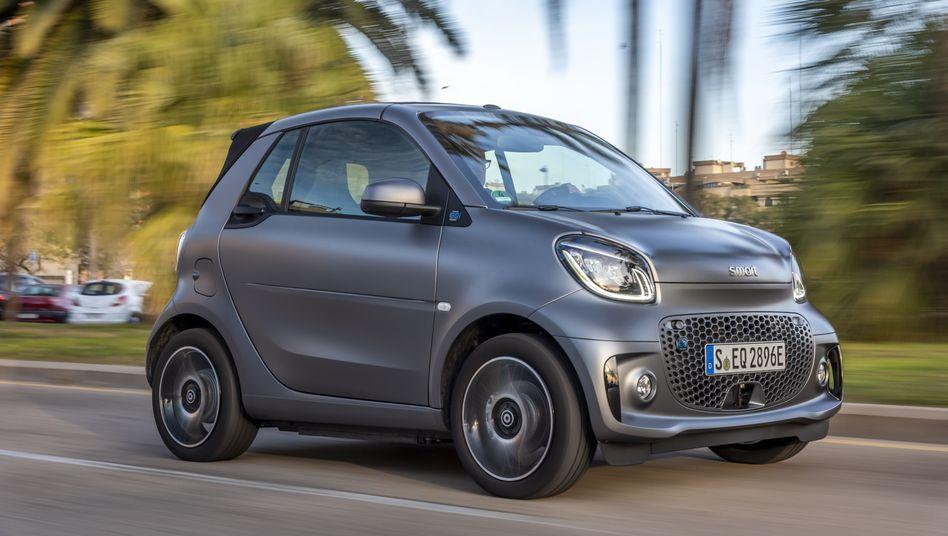 Smart fährt ab sofort ausschließlich elektrisch - hier das Smart EQ Cabrio