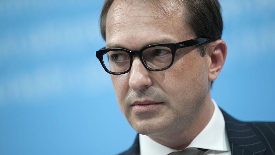 """CSU-Landesgruppenchef Dobrindt: """"Wir werden uns die Details genau anschauen"""""""