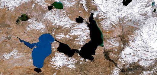 Hochland von Tibet: Schrumpfende Gletscher, wachsende Seen