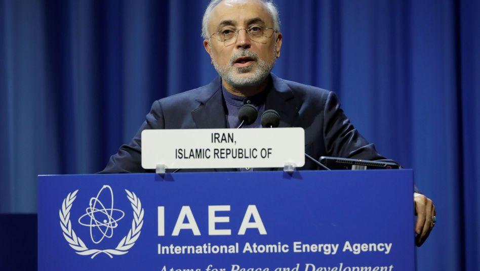 Verhandelt für Iran die Atomdebatte: Ali-Akbar Salehi