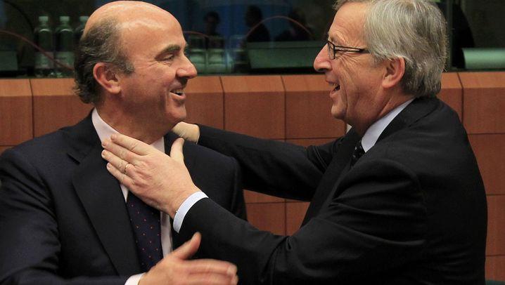 Krisentreffen: Rabiate Begrüßung für spanischen Minister