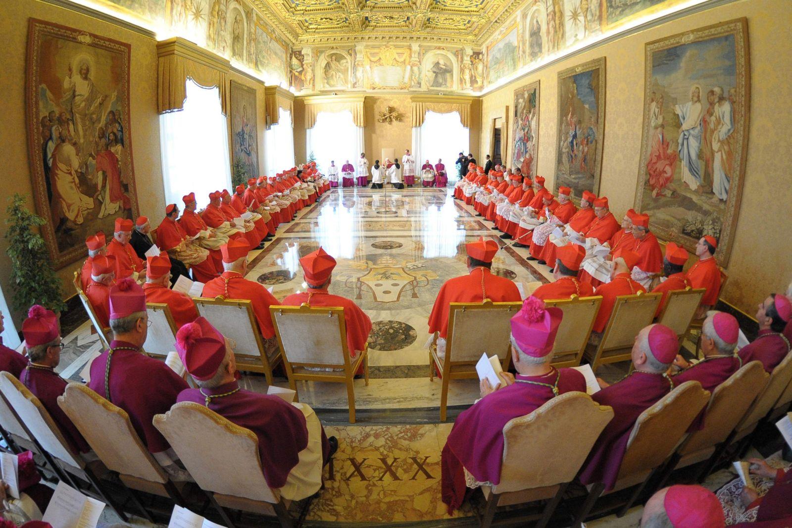 Kardinäle / Papst