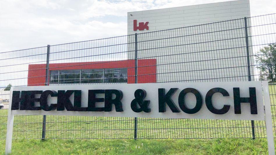 Firmenzentrale von Heckler und Koch in Oberndorf