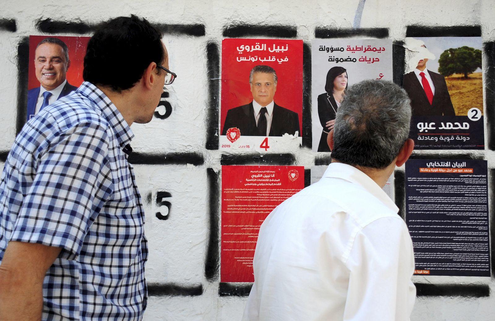 Tunesien/Nabil Karoui