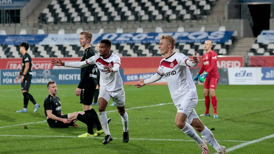 Regionalligaspiel in Essen