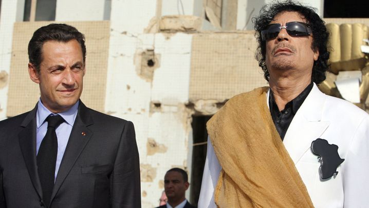 Sarkozy und Gaddafi: Der Präsident und der Diktator