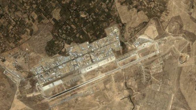 Satellitenbild der US-Basis Bagram: Neue Foltervorwürfe aus dem Militärgefängnis