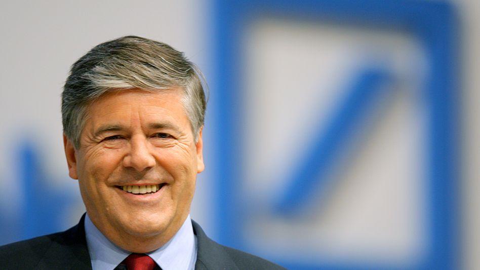 Deutsche-Bank-Chef Ackermann: Mehr Boni für die Investmentbanker