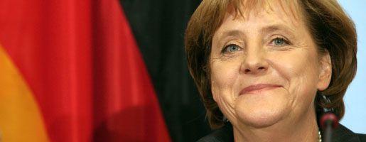 CDU-Chefin Merkel: Ihre Partei hat jetzt mehr Mitglieder als die SPD