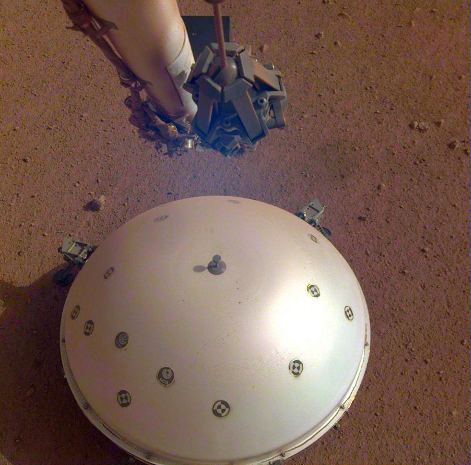 InSight Detects First Likely 'Quake' on Mars, Space, - - 23 Apr 2019