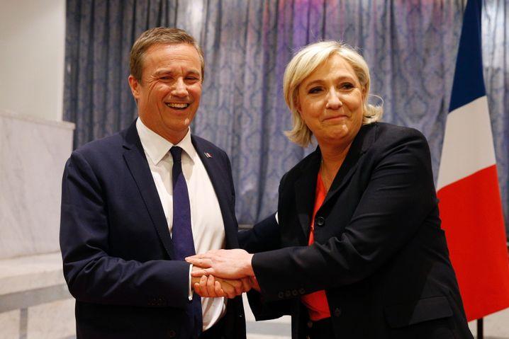 Marine Le Pen, Nicolas Dupont-Aignan