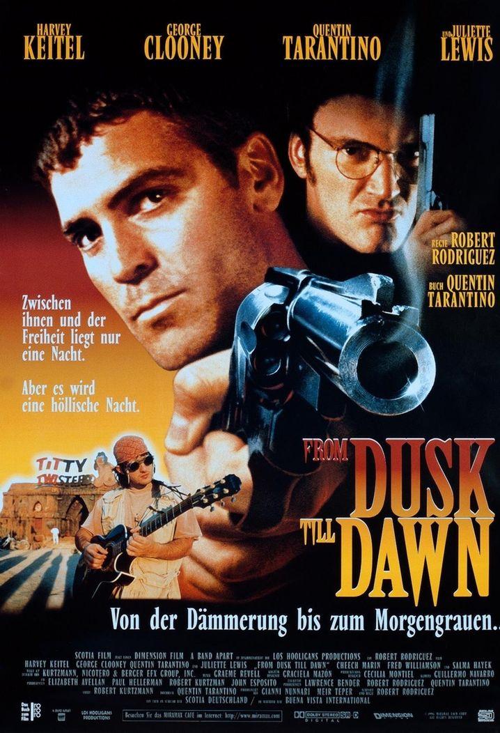 """DVD-Cover: """"From Dusk Till Dawn"""" gibt es jetzt in der Arte-Mediathek"""