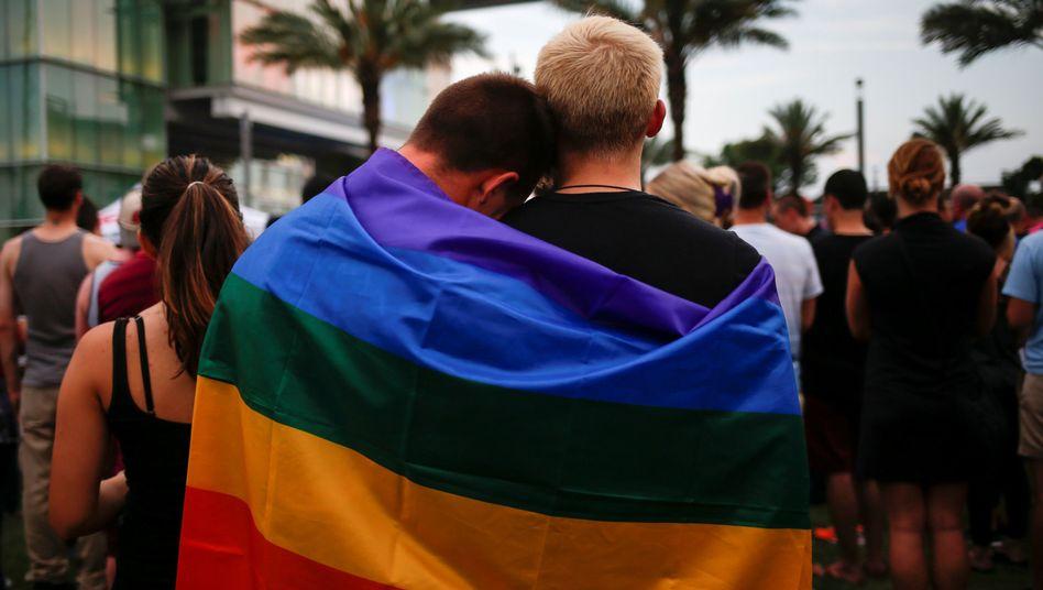 Gedenkveranstaltung in Orlando