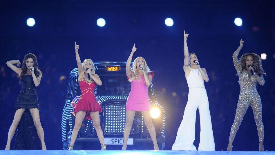 Die Spice Girls bei ihrem letzten gemeinsamen Auftritt 2012